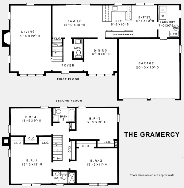 center hall colonial home floor plans home plan traditional center hall colonial house plans